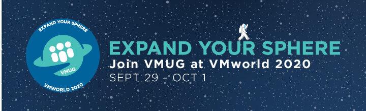 Join VMware User Group (VMUG) at VMworld 2020